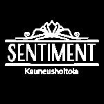 Logo Sentiment valkoinen